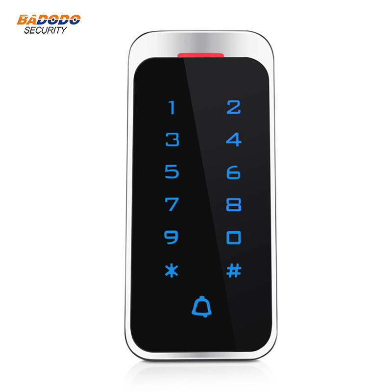Liberal Touch Panel Metal Case Standalone Access Control T5 Support Rfid Card Or Ic Card Wiegand Input Output 2000 Cards Capacity Access Control Access Control Kits
