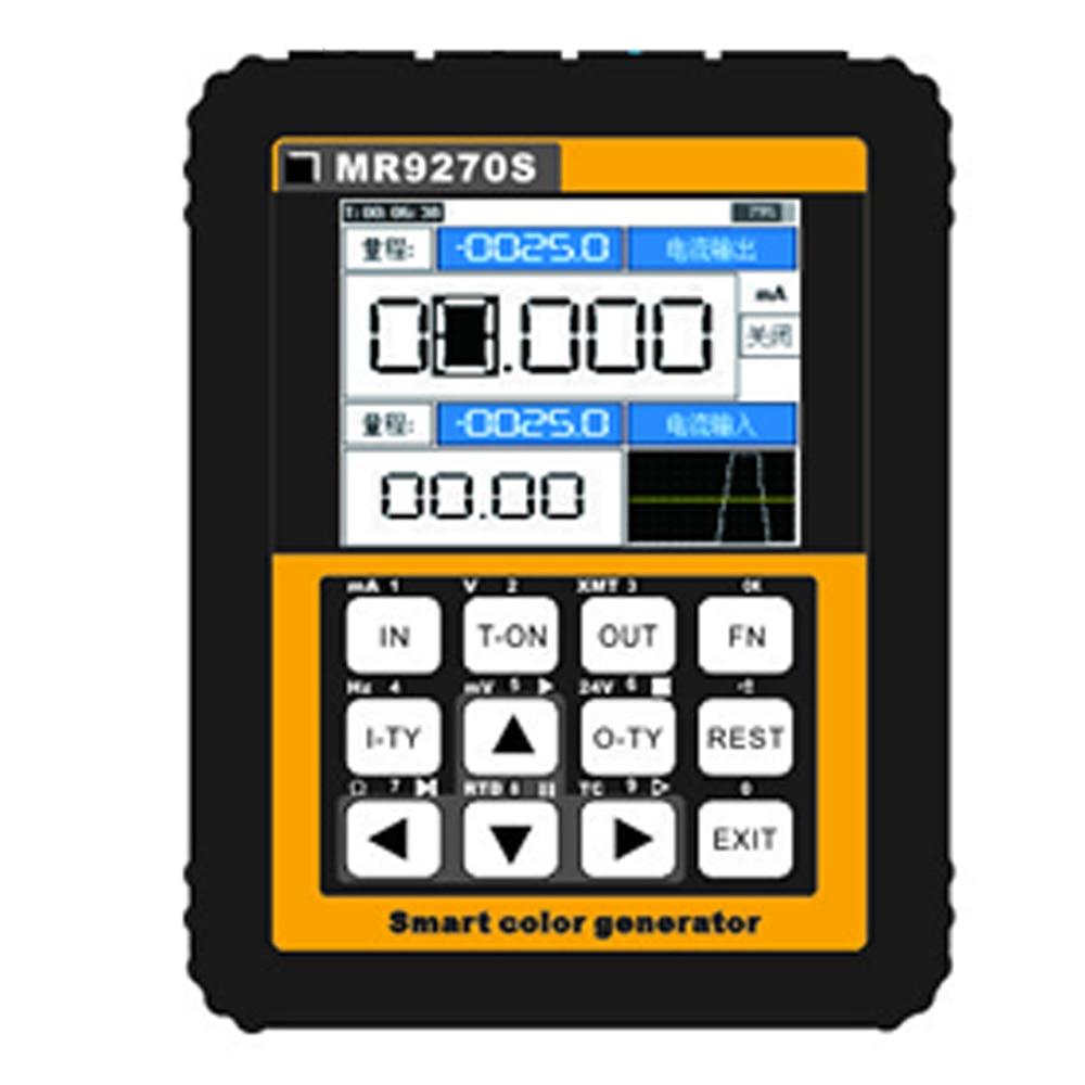 4-20mA générateur de Signal calibrage tension de courant Thermocouple transmetteur de pression enregistreur générateur de fréquence IPS HD affichage