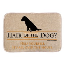 Funny Doormats With Hair Of The Dog Soft Lightness Home Decorative Indoor Outdoor Door Mats Short Plush Fabric Bathroom Mats