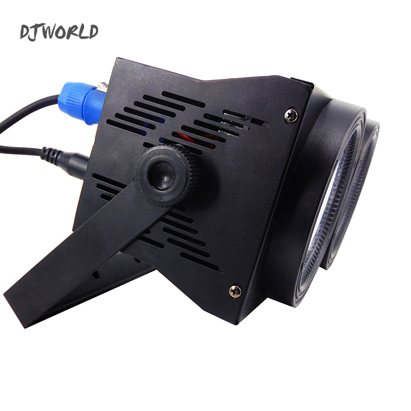 Image 5 - 2 Eyes LED 200W COB Par Light  RGBWA+UV 6in1 DMX 512 Lighting For Professional Large Stage Theater Spectator Seat-in Stage Lighting Effect from Lights & Lighting