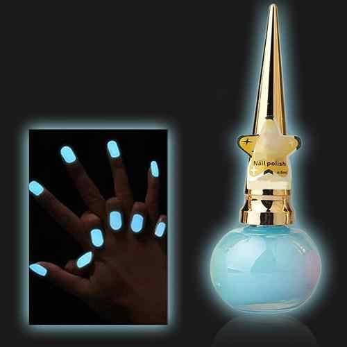 HOT Candy Kleuren Lichtgevende Nagellak 14ml Niet giftig Matte Tl Nail Art Decor