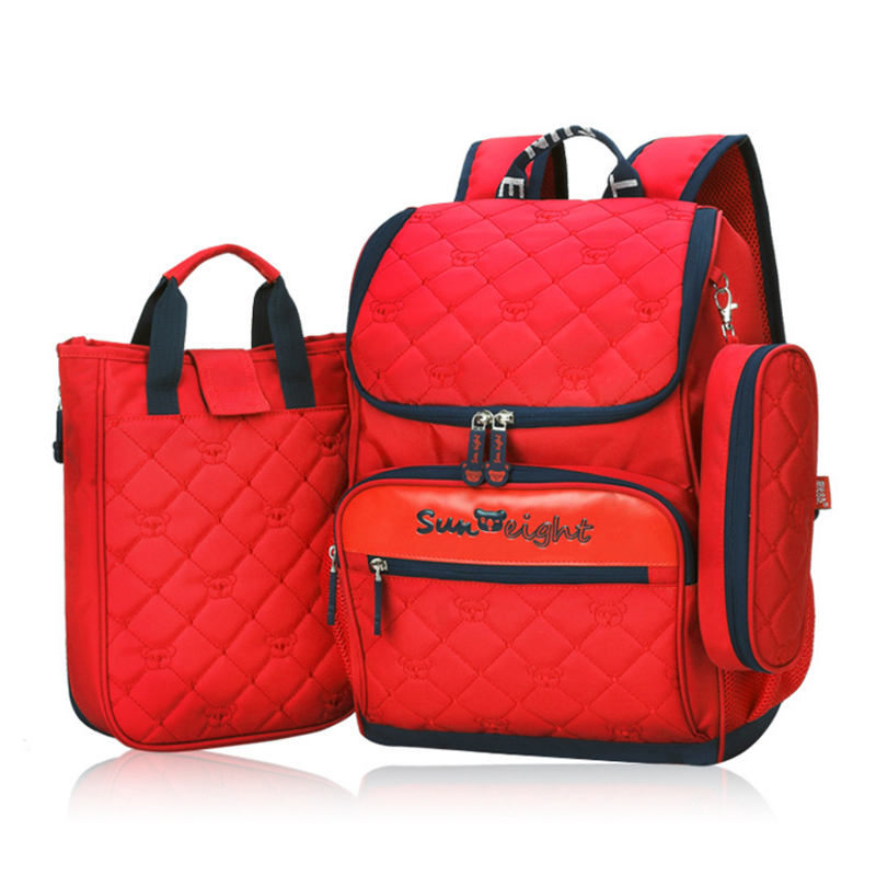 Rye time Backpacks primary school students SCHOOL BAG female 1 -6 YEAR spinal care child backpack backpack boys and girls 710 39 99usd 9 colours 2017 wholesale korean fashion pu zipper primary secondary school students backpack five pieces 2017121401