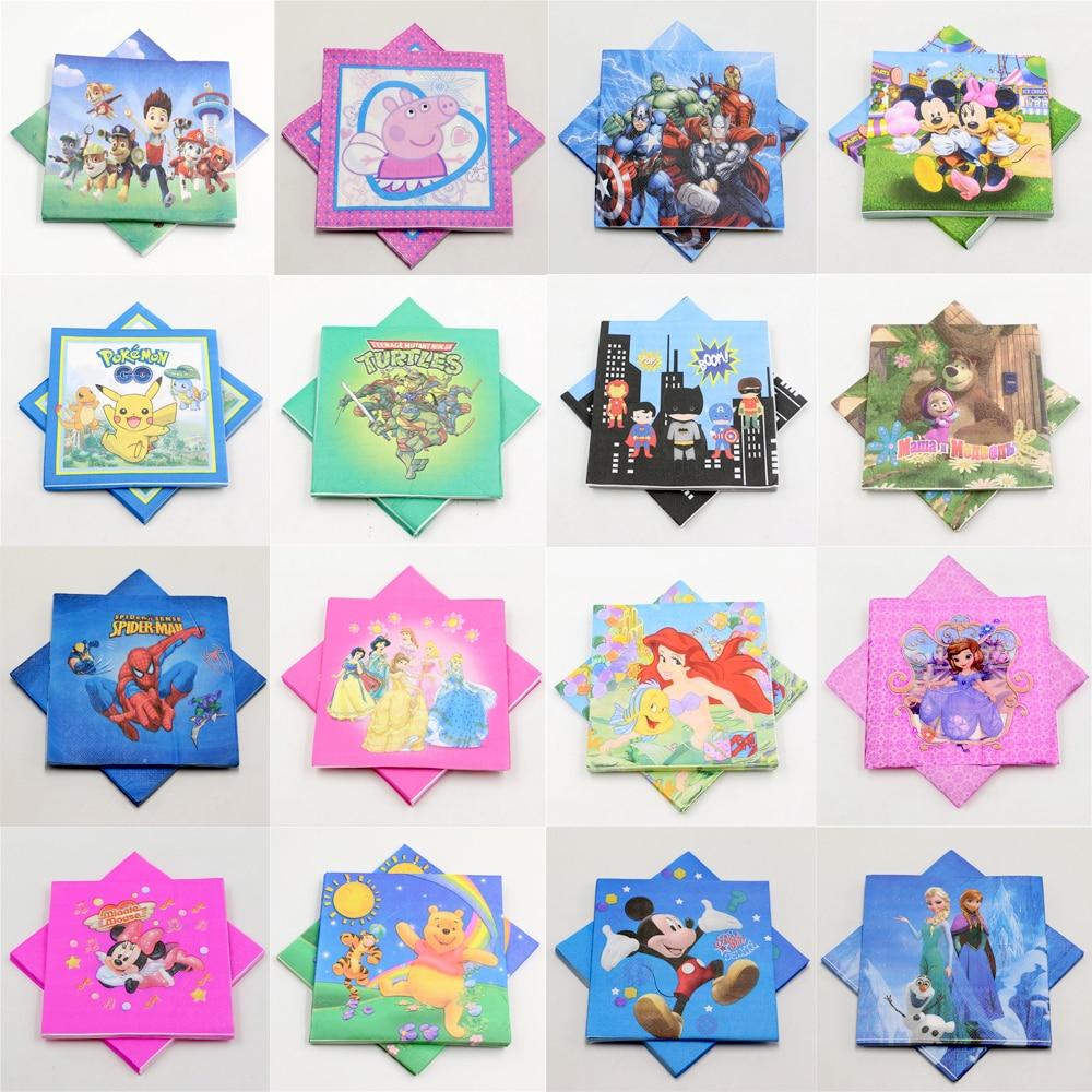 20pcs lot mickey baby shower pikachu kids favors decoration pokemon go