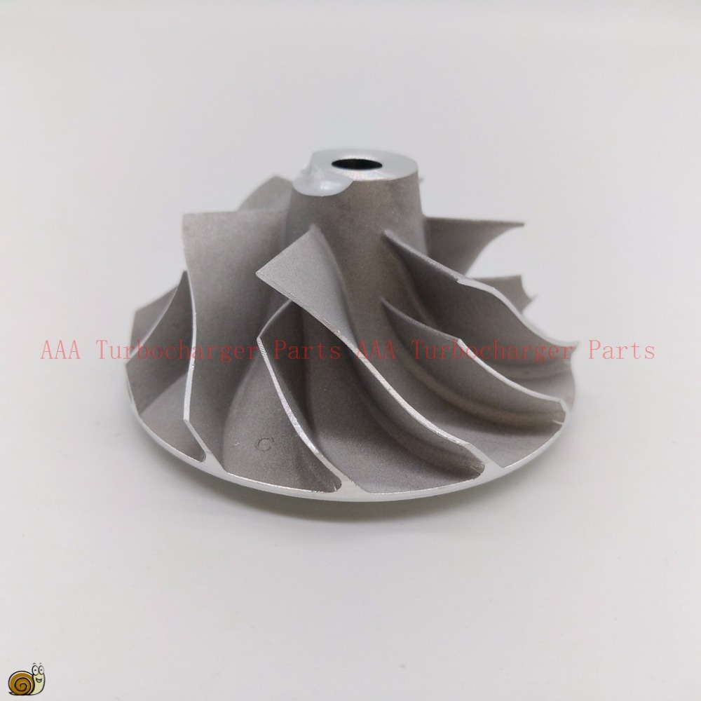 AAA turbocharger parts  GT1549/GT17 Turbo Compressor Wheel 34.9x49mm,6/6 blades supplier AAA Turbocharger parts