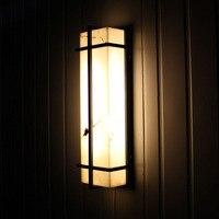 Настенные светильники наружного освещения Водонепроницаемый Европейский Стиль наружные светодиодные лампы на стенах вилла простой двор о