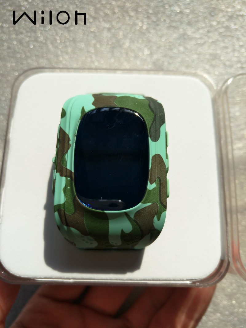 Watch Kids Gps-Tracker Q50 Camouflage Emergency SOS GSM SIM Smart Locator Wearable-Devices