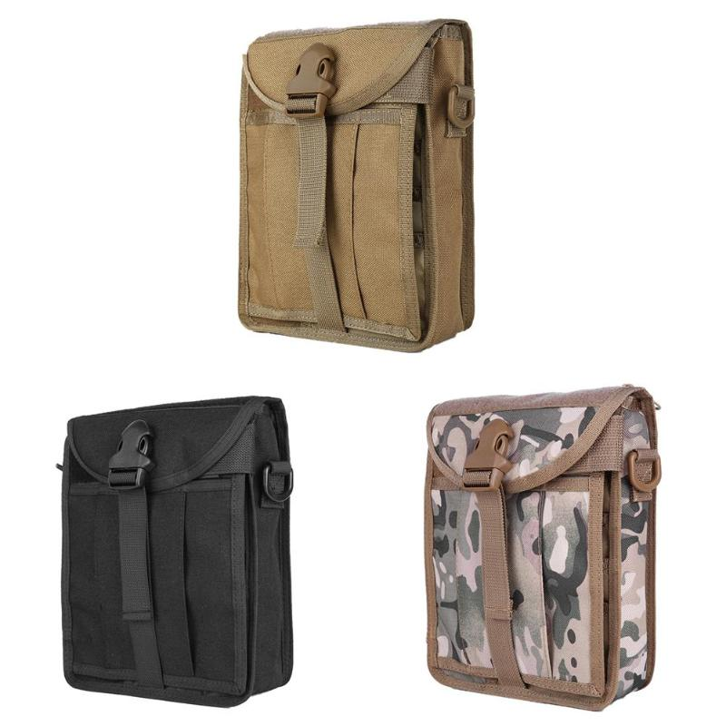 Sports Military 1000D ZNylon MOLLE Pouch Bag Tactical Utility Vest Gadget Hunting Shoulder Bags Outdoor Equipment
