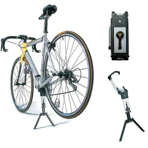 Ultime portable tune-up stand Topeak de Flashstand PORTABLE Vélo Vélo VTT & ROUTE Réparation Stand avec sac de transport pour voyager