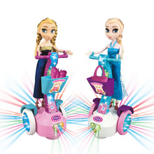 2018 original princess elsa doll Anna Snow Queen with lights children girl toys birthday Christmas gifts for kids salon dolls стоимость