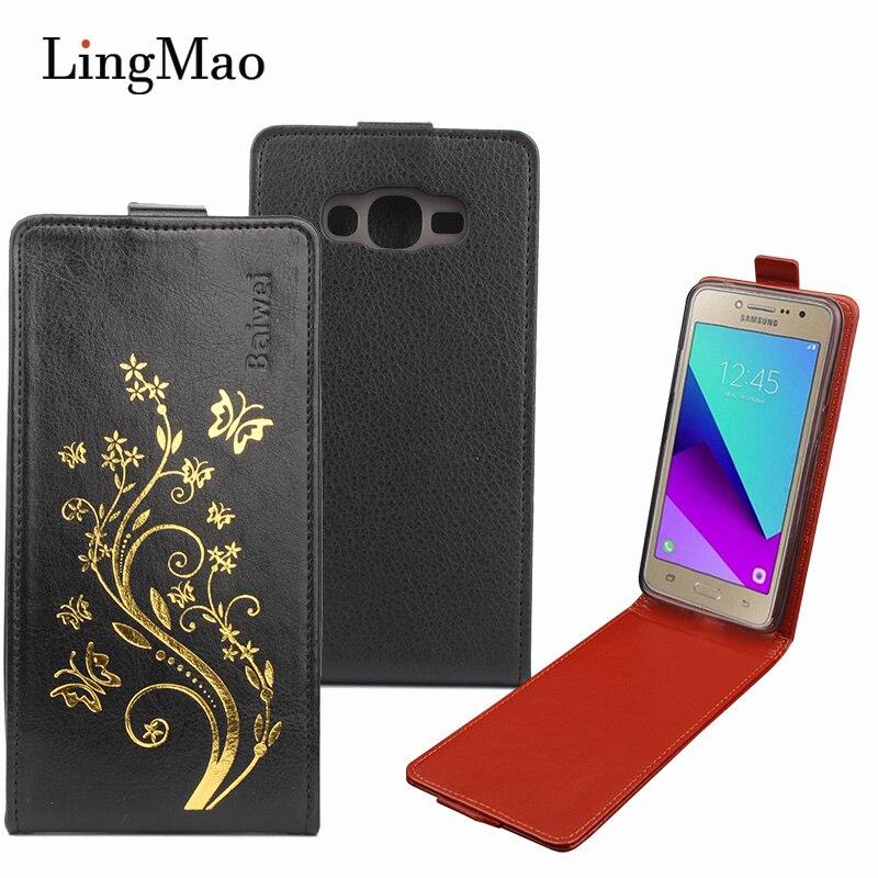 Flip case para samsung galaxy j2 prime phone case para samsung galaxy a5 2017 a5