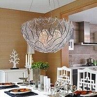 3ไฟมอบหมายโคมไฟโคมไฟLEDที่ทันสมัยศิลปะแสงจี้สำหรับห้องรับประทานอาหารห้องนั่งเล่น, E14หลอดไฟ...