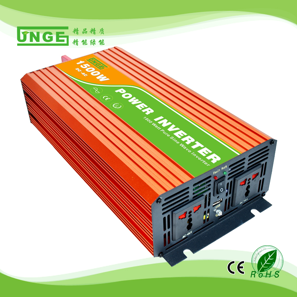 1.5KW/1500W 12/24/48V to 100/110/120/220/230/240VAC 50/60Hz residential home high frequency use pure sine wave off grid inverter 50 60hz 48v dc sine wave inverters 6000w