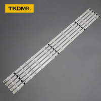5pcs x 32 inch LED Backlight Lamp Strip for SamSung 32'' TV UA32F4088AR 2013SVS32H D2GE 320SC0 9 leds 650mm