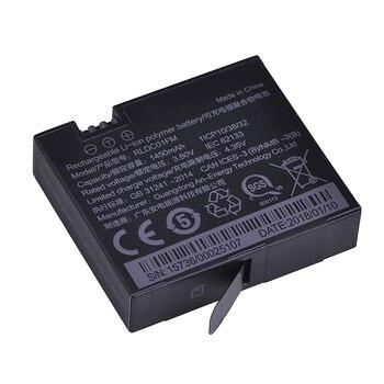 1Pc 3.80V 1450mAh Original Mijia 4k Battery for Xiao mi Mi Jia Action Mini Camera Battery