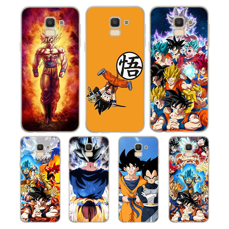 Silicone Case Dragon Ball Z Well Printing For Samsung Galaxy J8 J7 J6 J5 J4 J3 Plus Prime 2018 2017 2016 Case Cover Cellphones & Telecommunications Phone Bags & Cases