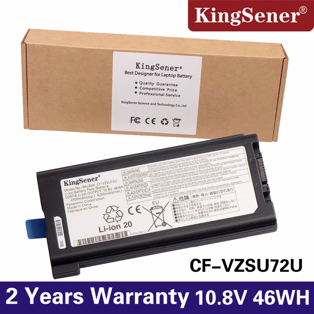KingSener new Laptop Battery For Panasonic Toughbook CF-30 CF-31 CF-53 CF-VZSU71U CF-VZSU72U 10.8V 46WH villarreal cf rcd espanyol