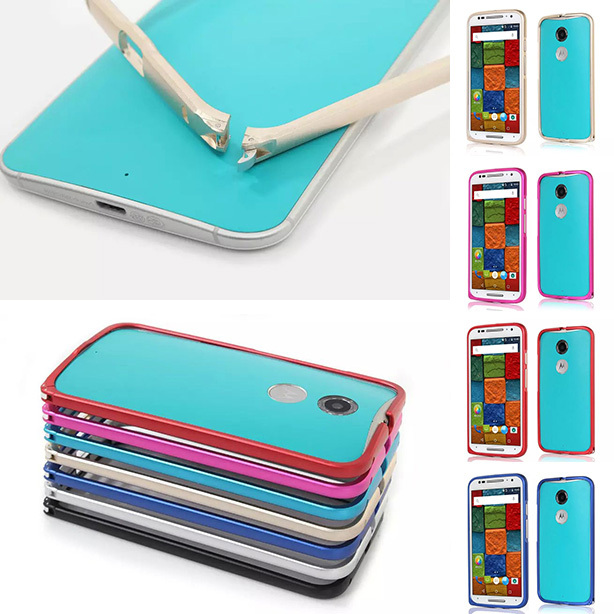 Luxury Aluminum Metal Bumper Frame For Motorola Moto X+1 X2 X 2nd Gen XT1095 XT1097 Hippocampus Buckle Border Cover Phone Case