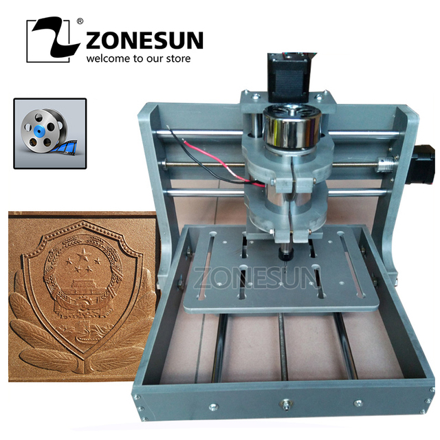2020b Diy Cnc Router Kit Mini Milling Machine 3 Axis Pcb Cnc Wood