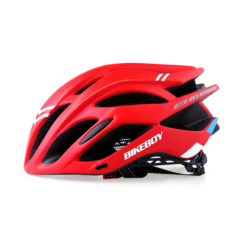 Bicycle Helmet Bike Mountain Adult Integrally-Molded Eps-Road Breathable Safe Red Black