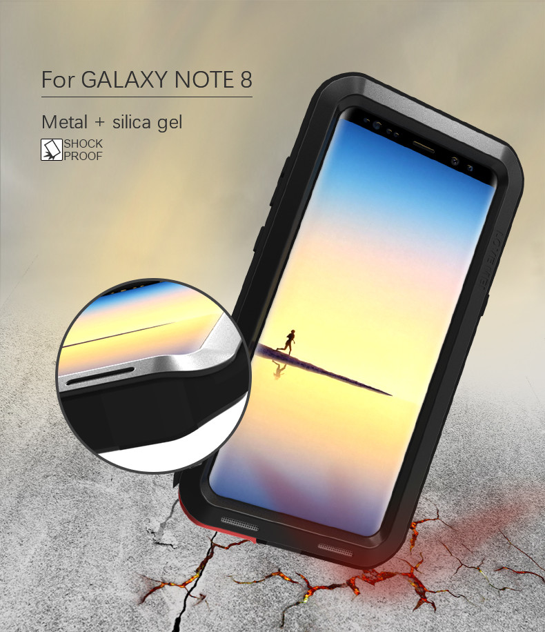 Image 2 - LOVE MEI Water Resistant Metal Case for SAMSUNG Galaxy S10 S8 S9  Plus S6 S7 Edge Note 10 9 8 A3 A5 2017 (6) A6 A8 A8S S10E A70Phone  Pouches