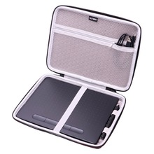 """LTGEM EVA Hard Case Fit for Wacom Intuos Wireless Graphic Tablet, Size 10.4""""x 7.8"""" (CTL6100)"""