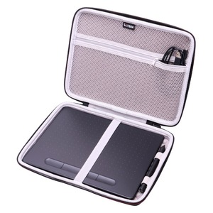 """Image 1 - LTGEM EVA Hard Case Fit for Wacom Intuos Wireless Graphic Tablet, Size 10.4""""x 7.8"""" (CTL6100)"""