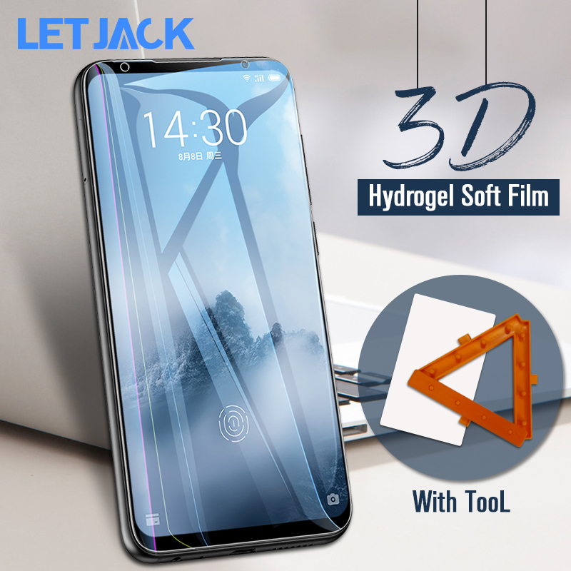 Hydrogel-Film Not-Tempered-Glass Full-Protective Meizu M15 7-Plus for 3D Soft 6