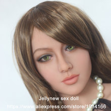 silicone love doll head,Doll accessories,oral depth 13cm,real lips,tongue,Fit body height:153,156,158,160,161,163,165,168cm