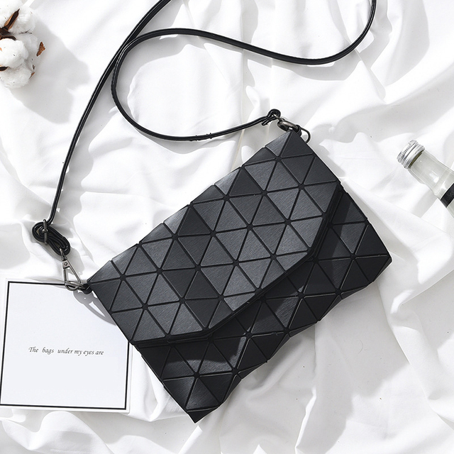 Women Sling Bag Female Shoulder Bags Girls Flap Geometric Luxury Handbags Women Bags Designer Messenger Bags 2