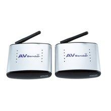 HBUDS 150 м PAT-335 2,4 г беспроводной AV аудио и видеопередатчик и приемник системы для DVD/DVR/IP ТВ/CC ТВ камера/ТВ черный