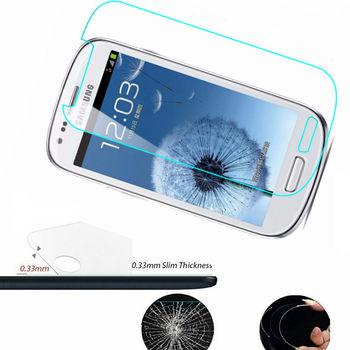Película de vidrio templado para Samsung i8190 Galaxy S3 mini S III, Protector de pantalla mini, cristal para samsung GT i8200 i8190n