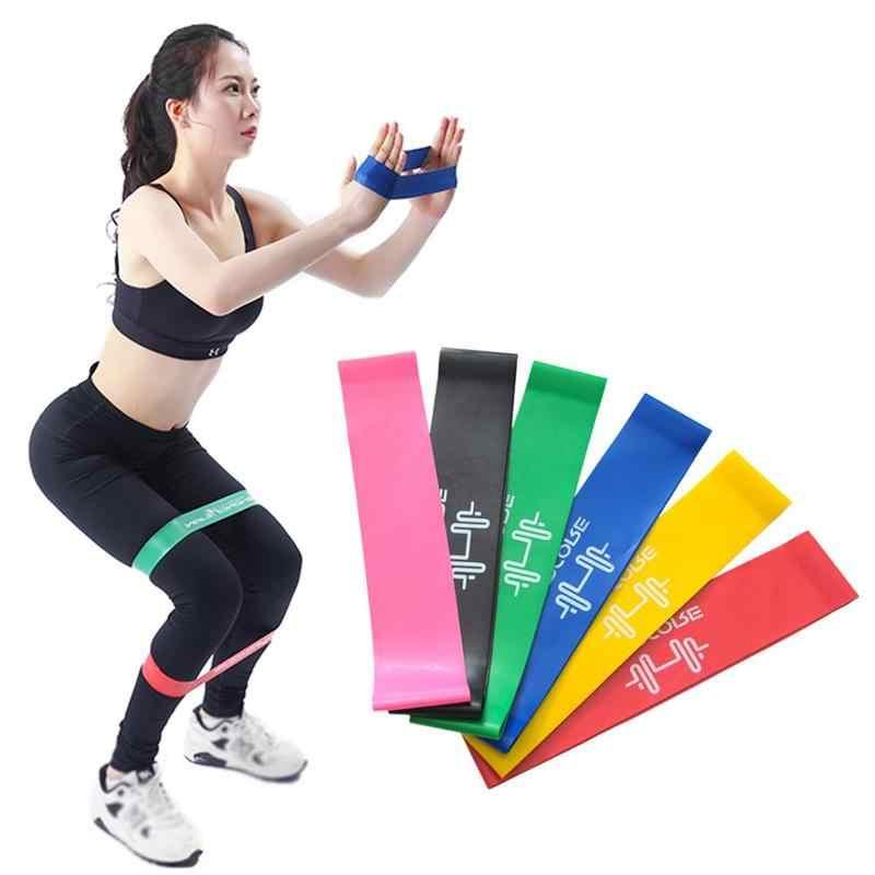 Sprzęt do ćwiczeń trening siłowy lateksowe opaski elastyczne taśmy oporowe Crossfit joga gumki recepturki sportowe