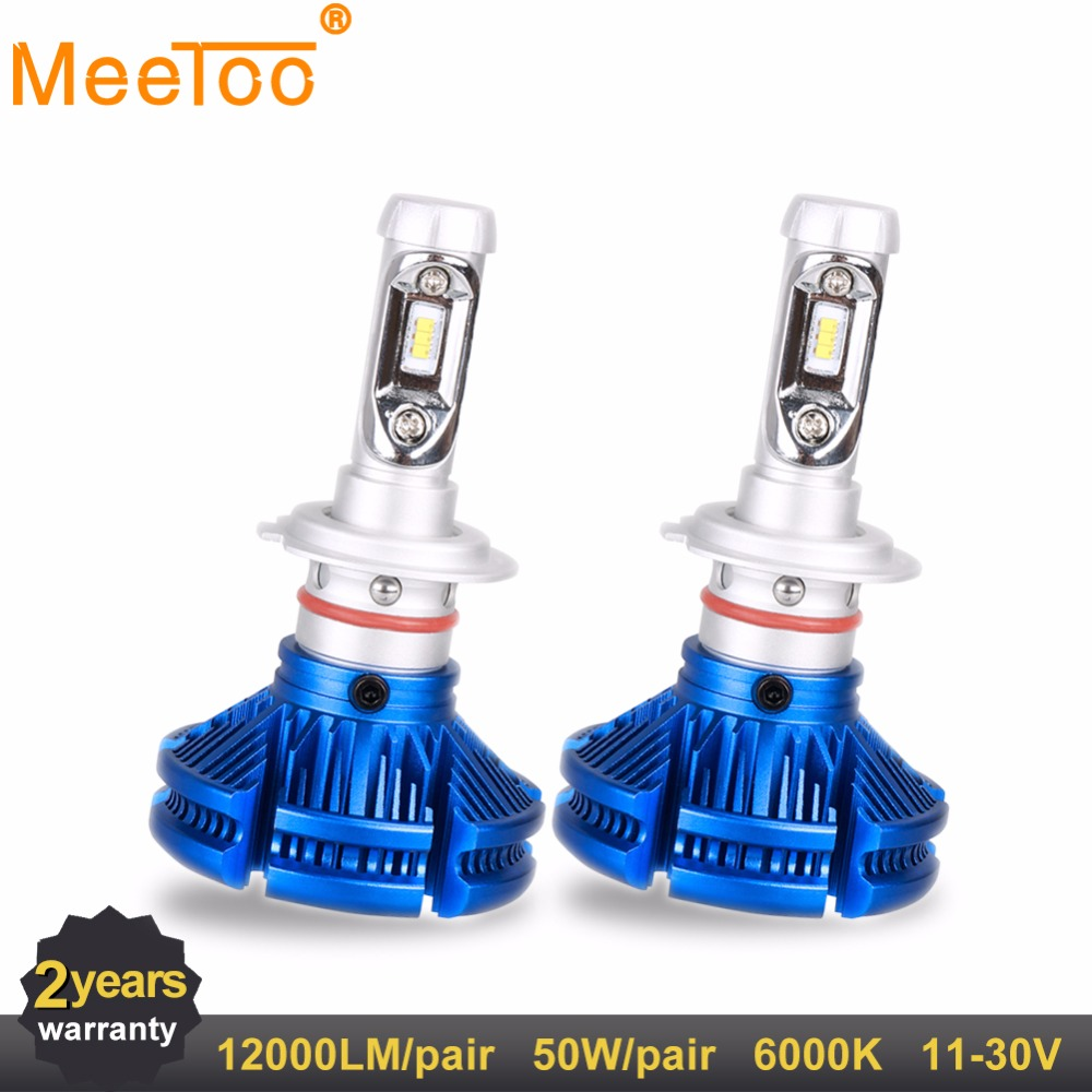 H4 H7 H11 HB4 9005 9006 H1 H3 9012 50W LED Car Headlight Bulbs 6000LM ZES Chips Auto Headlamp Fog Light 12v 24v 6000K H8 H9 HB3 источник света для авто oem 2 h7 6000lm 30 auto 6000k 360 dc12 24v