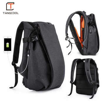 T Fashion Men Backpack for Laptop 17.3
