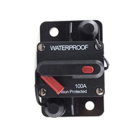 Y 60A 70A 80A 90A 100A Amp Car Auto Audio Marine Boat Audio Circuit Breaker DC 12V/24V/42V