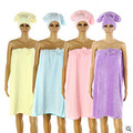 Color caramelo mujeres primavera otoño coral túnica de lana home use bata del hombro albornoces ladies casual bath robes Q896