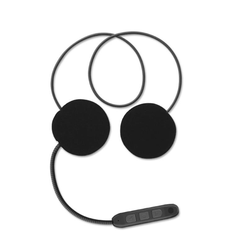 Hot Intercomunicador Motorcycle Helmet Headset Bluetooth Motorbike Handsfree Headset Headphone For Music GPS Car Styling