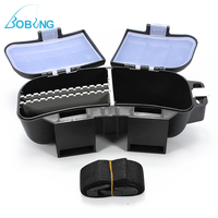 New Fishing Lures Baits Spoons Hooks Reels Storage Bag Tackle Box Waist Belt Case Light Weight