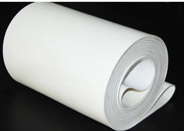 1500mm * 300mm * 3mm (Personnalisé) PVC Blanc Transmission Convoyeur Ceinture Ceinture Industrielle