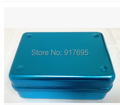 Dental Use Disinfection Box  For Endodontic File With High-Speed Bur / Gutta Percha