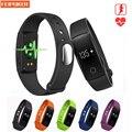 Pulseira inteligente ID107 Relógio Monitor De Freqüência Cardíaca Do Bluetooth Remoto Banda Inteligente Pulseira Pedômetro Aptidão pulseira SmartBand Reminde
