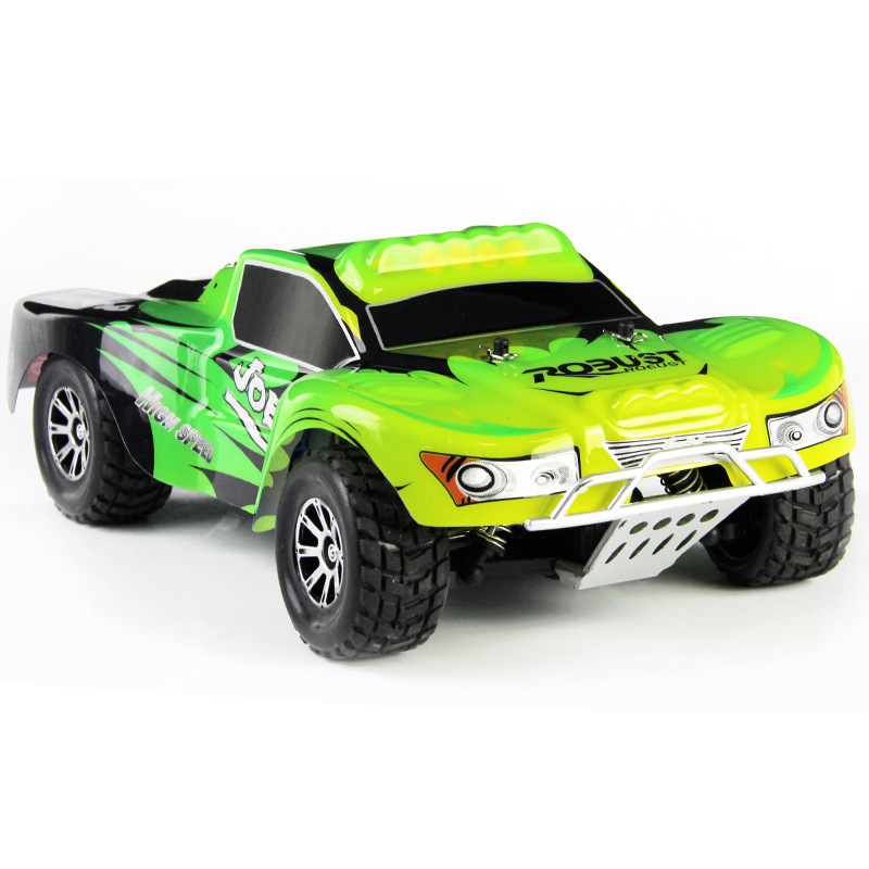 Children Toys rc Monster Truck A969 1:18 45KM high speed remote conontrol racing car toy 2.4G 4WD Car with Shock System vs fy05