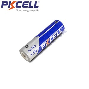 Image 2 - 16 sztuk/partia PKCELL fr1485 FR6 L91 LiFeS2 AA 1.5V baterie litowo żelazne 3000mAh li fe AA baterii do aparatu cyfrowego
