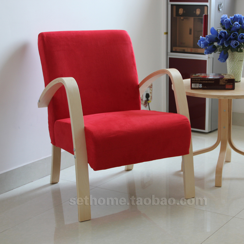 Charming Cheap Fabric Armchair IKEA Style Small Apartment Sofa Leisure Sofa Small  Sofa Chairs Wood Coffee Shop In Restaurant Chairs From Furniture On  Aliexpress.com ...