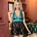 IDARMEE Hot Seller Sexy Lingerie Plus Size Women Top Underwear Erotic Lingerie Babydolls Floral Lace Sleepwear XXXL S6393