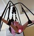 Frete grátis nylon webbing cadeira de balanço sexo casal Fetiche Erótico jogos escravidão oscilações sexo adulto mobiliário sexo brinquedos para as mulheres 002