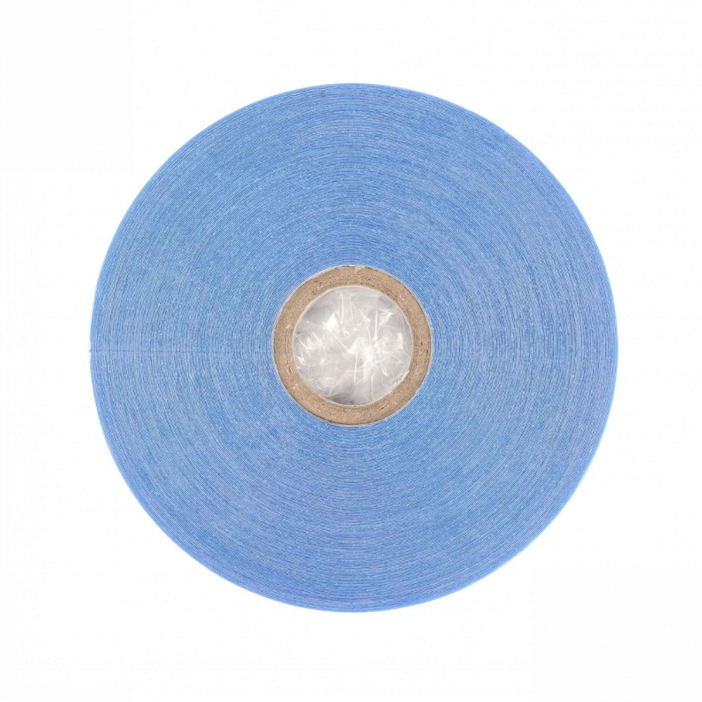 Image 3 - 0.8cm*36yards Strong Hair System Tape Lace Front Support Blue Double Sided Tape For Tape Hair Extension/Toupee/Lace Wig-in Adhesives from Hair Extensions & Wigs