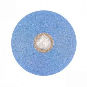 Image 2 - 36yards système de cheveux bande dentelle avant Support bleu Double face ruban adhésif pour Extension de cheveux de bande/toupet/perruque de dentelle