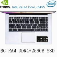 256g ssd intel P2-25 6G RAM 256G SSD Intel Celeron J3455 NVIDIA GeForce 940M מקלדת מחשב נייד גיימינג ו OS שפה זמינה עבור לבחור (1)