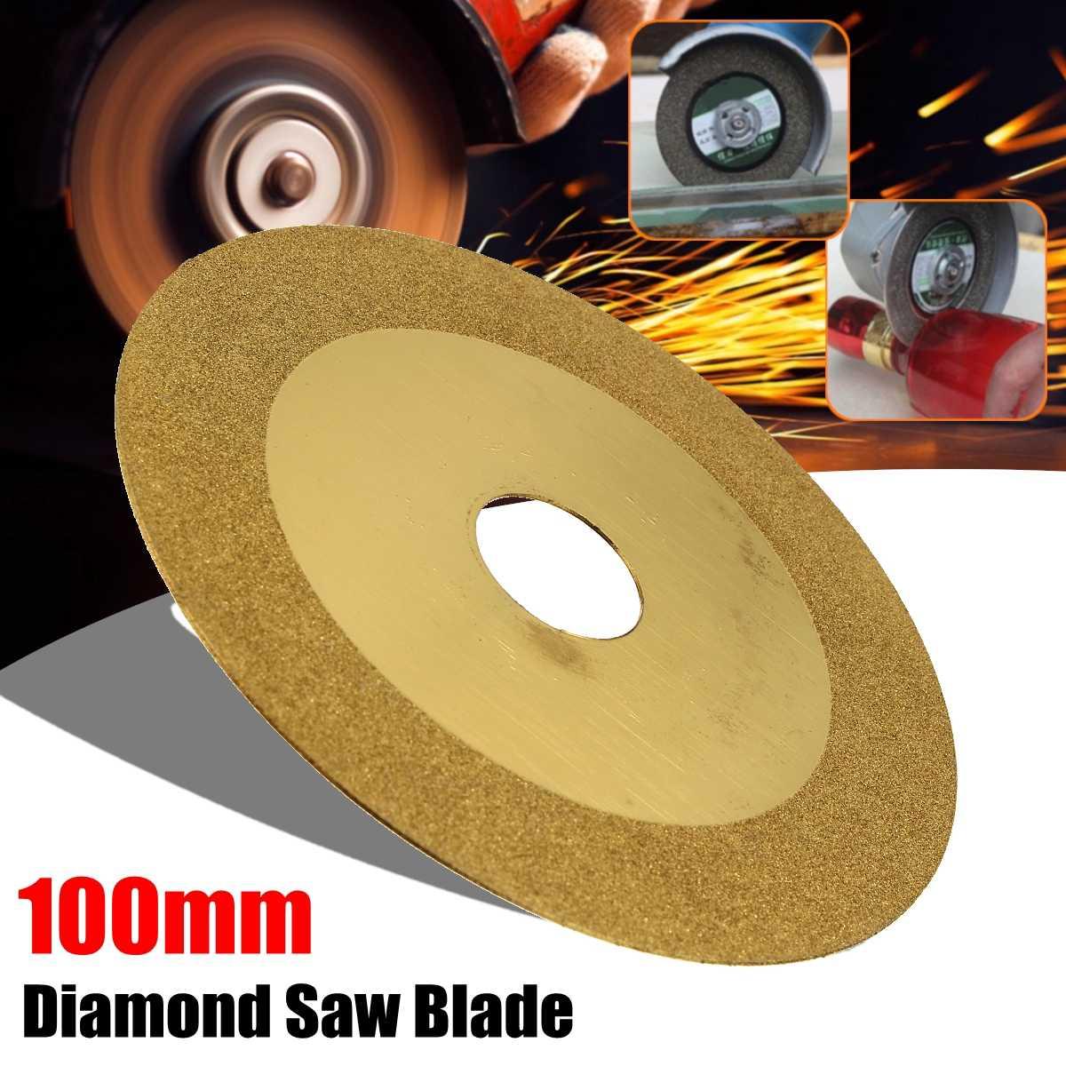 100x20mm Diamond Saw Blades Wheel Cutting Discs & Drill Bit For Dremel Rotary Tool Glass Metal Glass Stone
